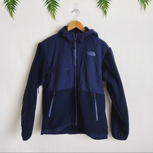 The North Face • Navy Blue Denali Hoodie Jacket